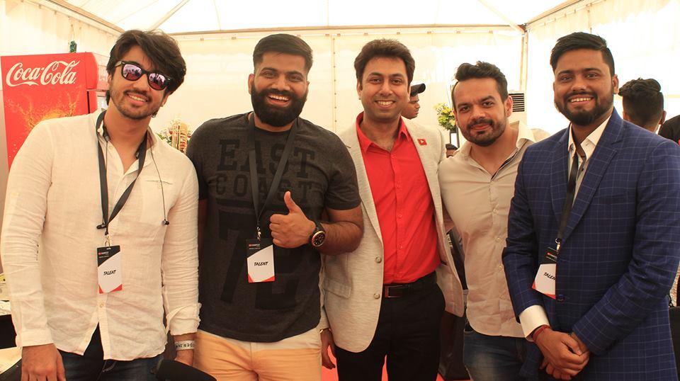 Red Carpet Walk at YouTube FanFest 2018 in Mumbai