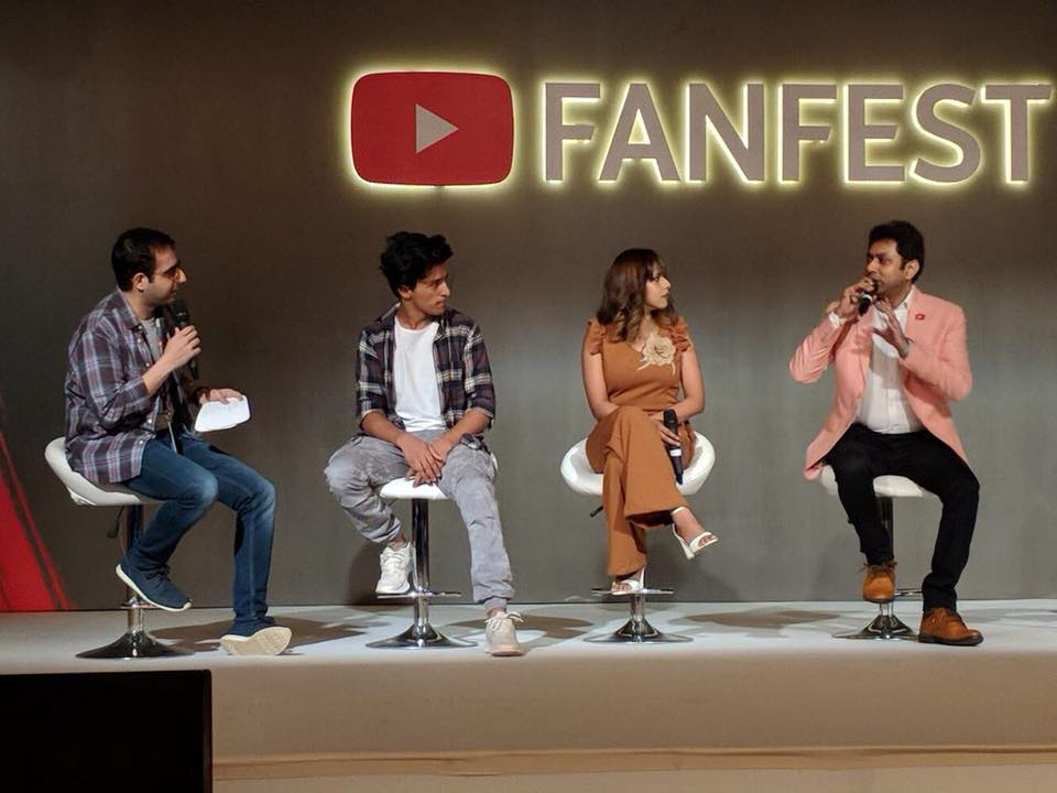 Panelist at YouTube FanFest Creator Camp