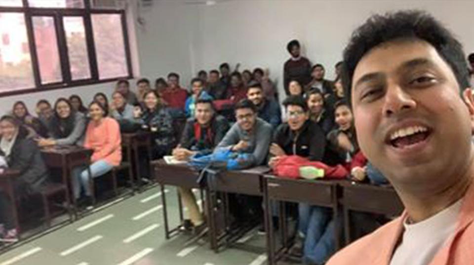 at Delhi Institute Of Advanced Studies, Rohini.