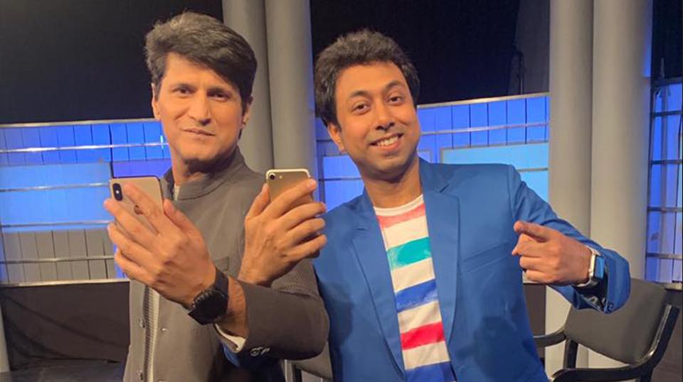 NDTV's Gadget Guru show with Rajeev Makhni