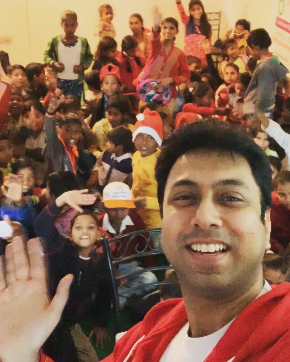 Christmas celebration at NGO
