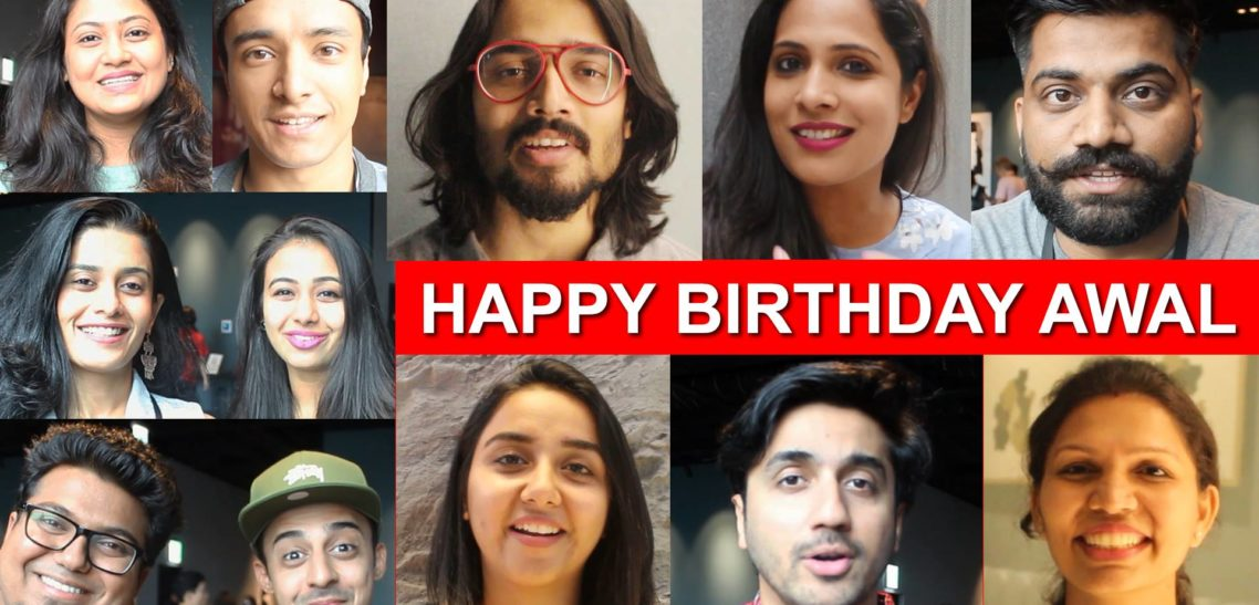 Birthday Wishes from the Stars of YouTube