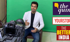 Interview with 'The Quint', 'Your Story' and 'The Better India