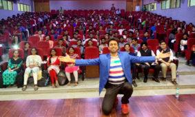 Motivational speaker at TikTok's EduTok workshop in Hyderabad